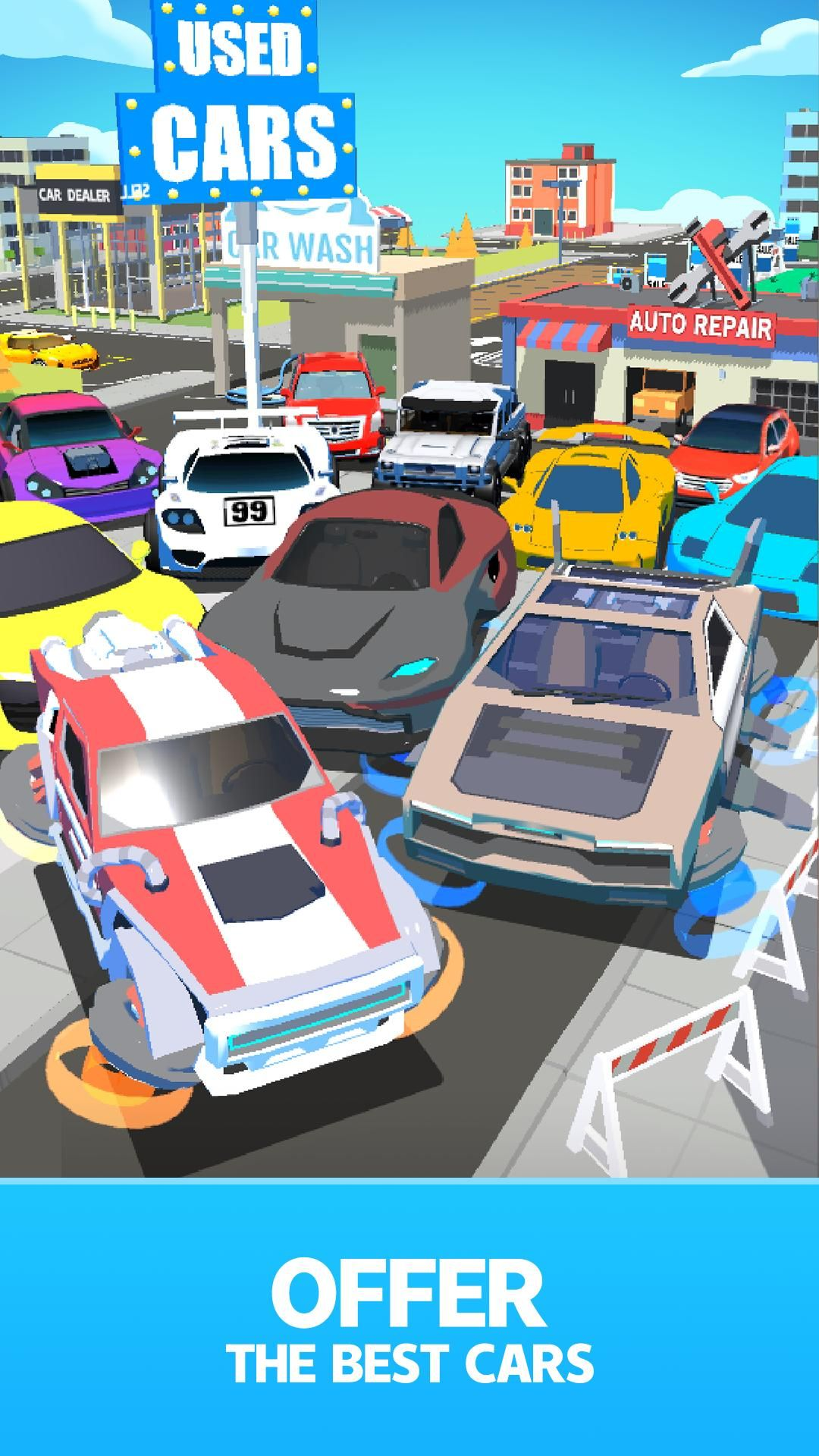 Download Used Car Dealer Tycoon Mod Apk V1 9 603 In 2021 Car Dealer Used Car Dealer Car