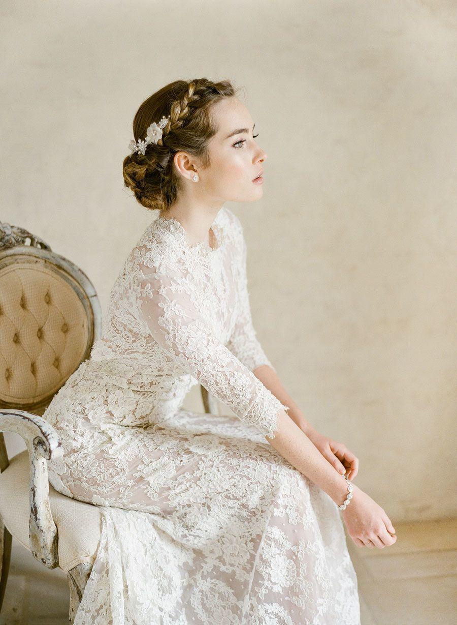 Anne of green gables wedding dress  Elegant  Ethereal Wedding Inspiration  Bel Aire Bridal Giveaway