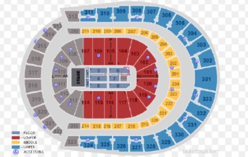 Tickets 2 Floor Seat Tickets Tom Petty The Heartbreakers Joe Walsh Nashville Bridgestone Tickets Foo Fighters Nashville Concert Tickets