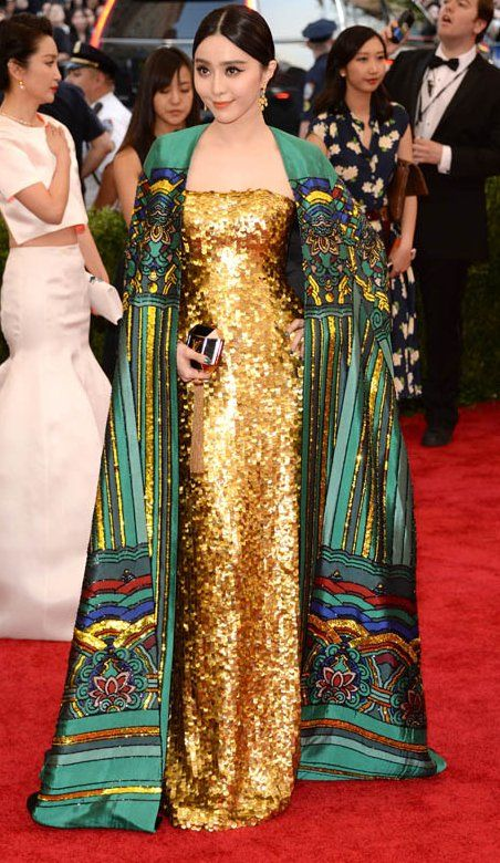 Fan Bingbing In Chris By Christopher Bu Attends The China Through The Looking Glass Costume Institute Benefit Nice Dresses Met Gala Looks Red Carpet Fashion
