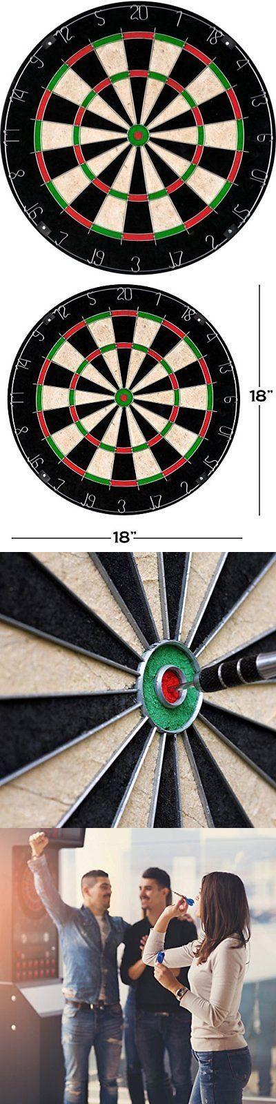Dart Boards 72576 Bristle Dart Board, Tournament Sized