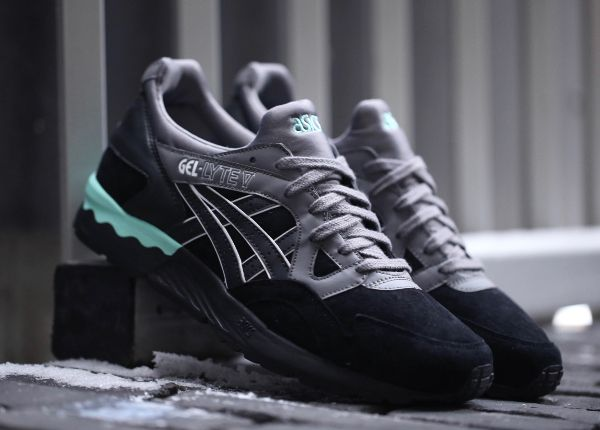 Asics Gel Lyte 5 Casual Lux 'Black'   Chaussures pour hommes ...
