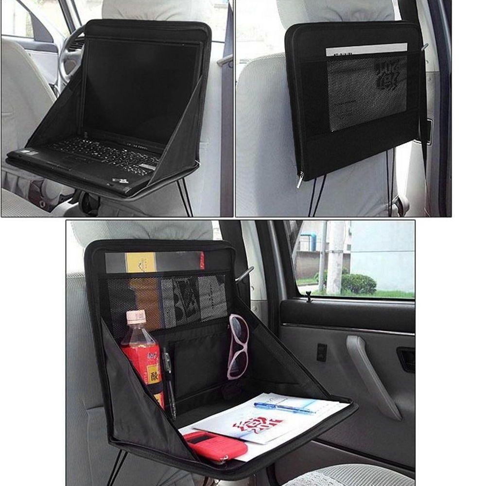 Folding Table Car Back Seat Storage Tidy Organiser Dvd Laptop