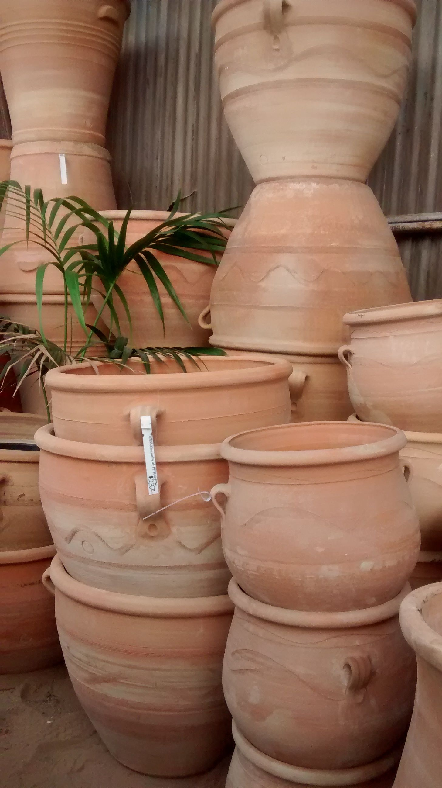 We Love Adding A Mediterranean Touch To Our Garden Design With Our Hand Thrown Greek Terracotta Terracotta Antique Terra Cotta Pots Terracotta Pots