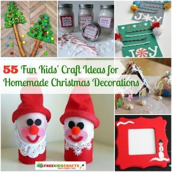 60+ Homemade Christmas Craft Ideas for Kids Homemade christmas