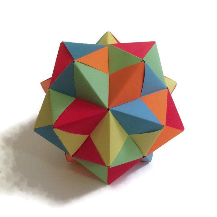 Several People Have Asked For Tips About Getting Started With Geometric Modular Origami So I