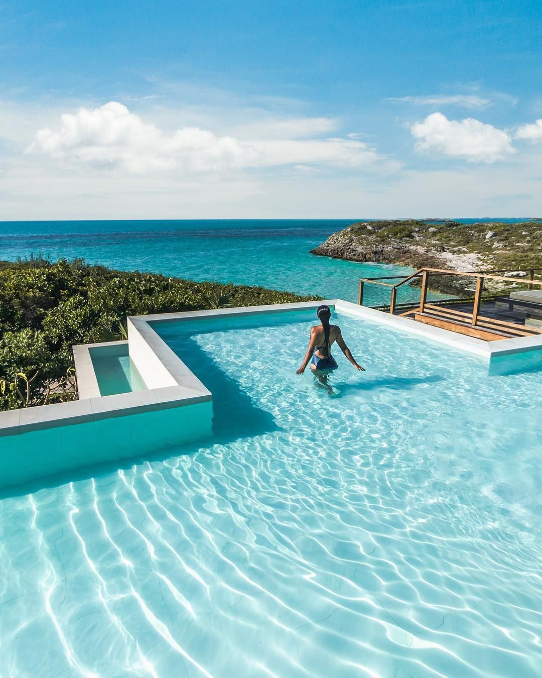 Turtle Tail Estate On Instagram Endless Views Of Azure Waters Surrounded By Lush Vegetation Distant Places Never Felt So Much L Views Swimming Pools Estates