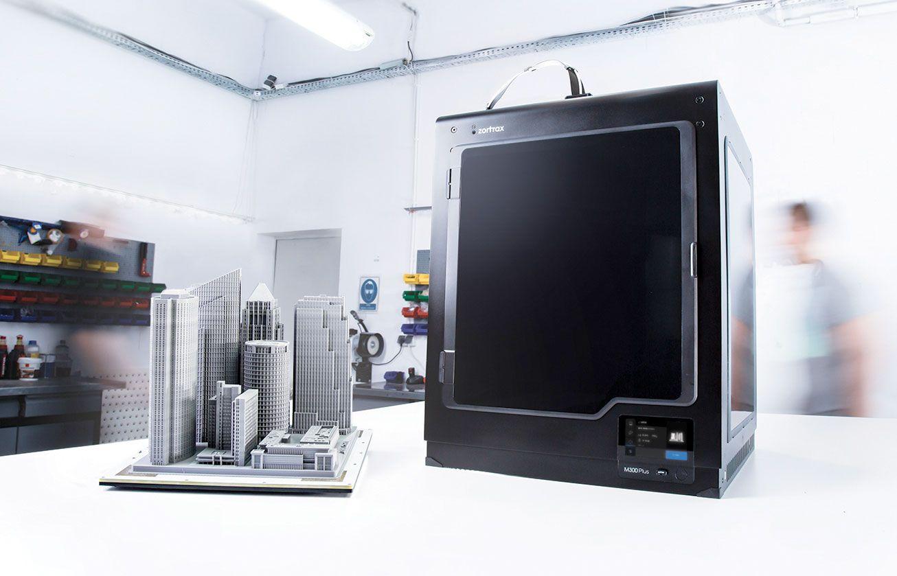 Zortrax Stellt Neuen 3d Drucker M300 Plus Vor 3d Drucker Drucken 3d Druck