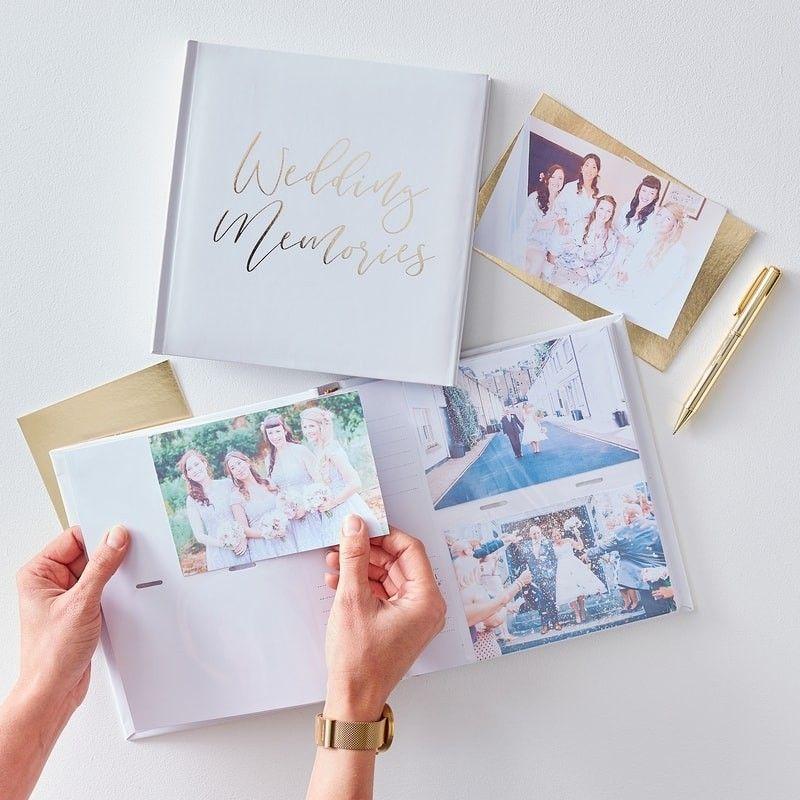 Fotoalbum Hochzeit Wedding Memories In Weiss Gold Fotoalbum Hochzeit Hochzeitsfotoalbum Und Hochzeitsalbum