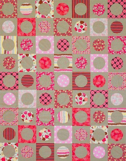Quilt Patterns That Use 10 Inch Squares Circle Quilts Quilt Patterns Quilts