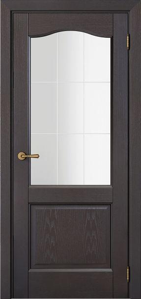 Sarto Interio NS 1224 Interior Door Wave Glass Mokachino Ash