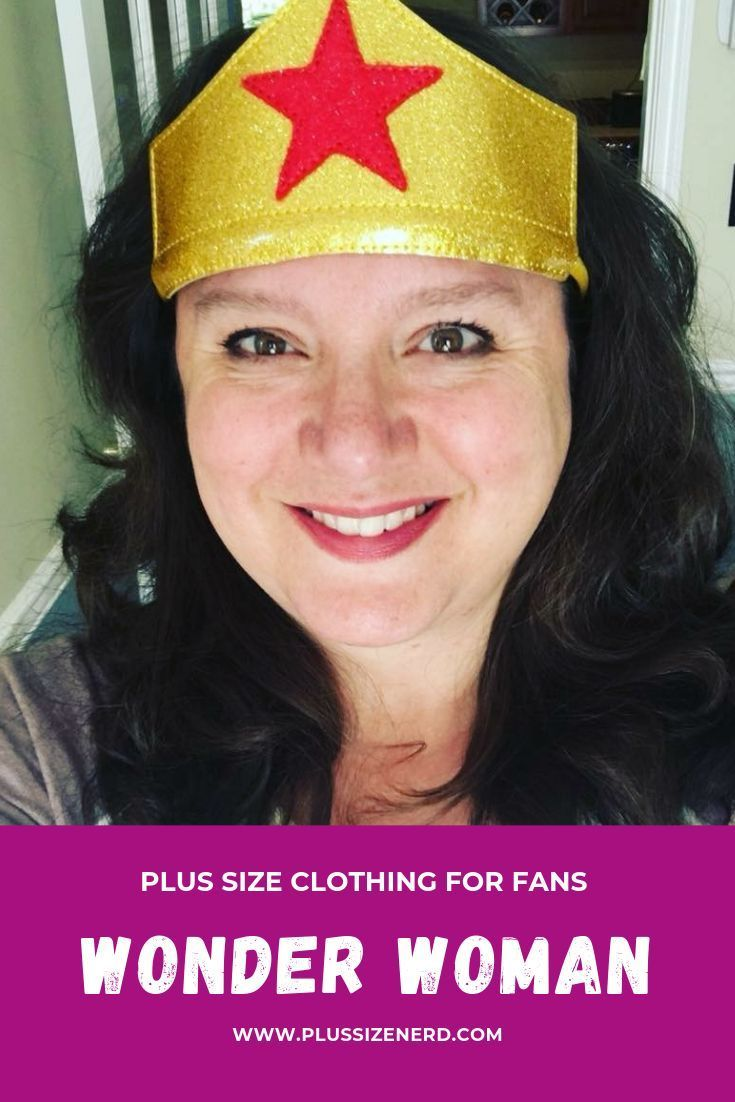 Photo of Plus Size Wonder Woman Shirts and Leggings – Plus Size Nerd