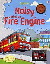 Usborne wind up fire engine book