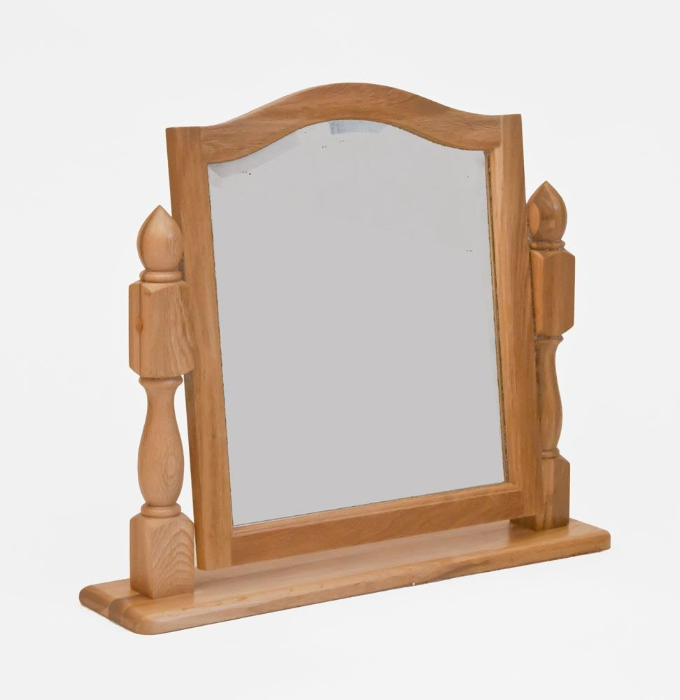 Westbury reclaimed oak dressing table mirror beauty mirror beauty