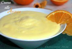 Crema alle Arance,ricetta - Dolcissima Stefy