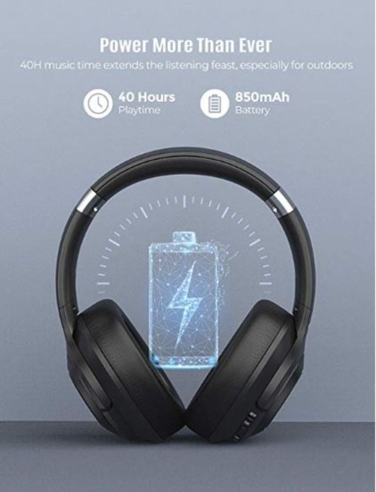Mpow H21 Hybrid Active Noise Cancelling Headphones Bluetooth 5 0 Over Ear Headphones In 2020 Mpow Noise Cancelling Headphones Wireless Headphones