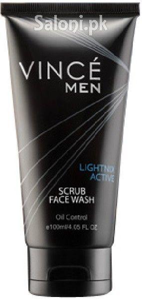 Vince Men Oil Control Scrub Face Wash Scrub Face Wash Face Wash Oil Control Products