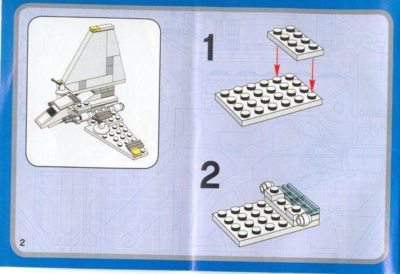 Star Wars Mini Imperial Shuttle Lego 4494 L Pinterest Lego