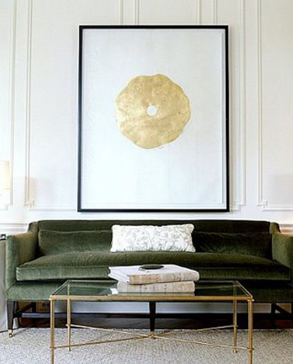 Image Via Wwwstephenknollenberg #green #47Parkavenue Beauteous Living Room Design 2014 Decorating Design