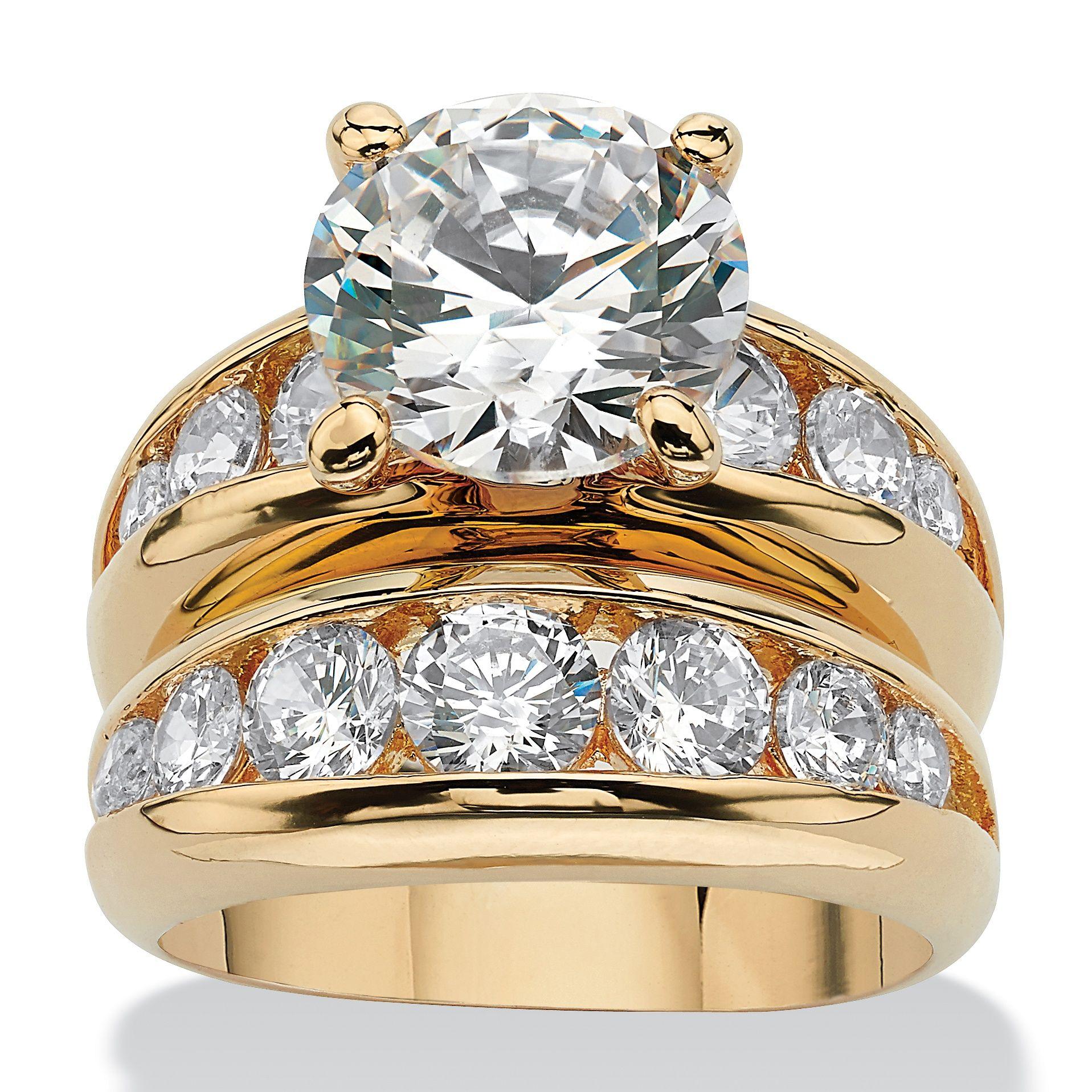 Possessing 6.09 carats T.W. of megawatt sparkle, this