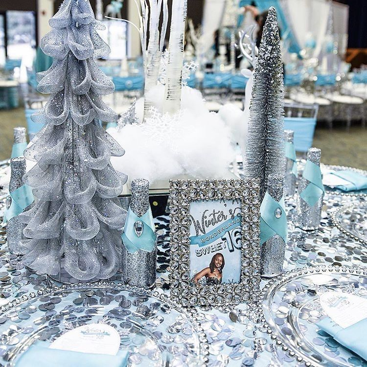 Winter Wonderland Quinceanera Theme Ideas Mi Padrino