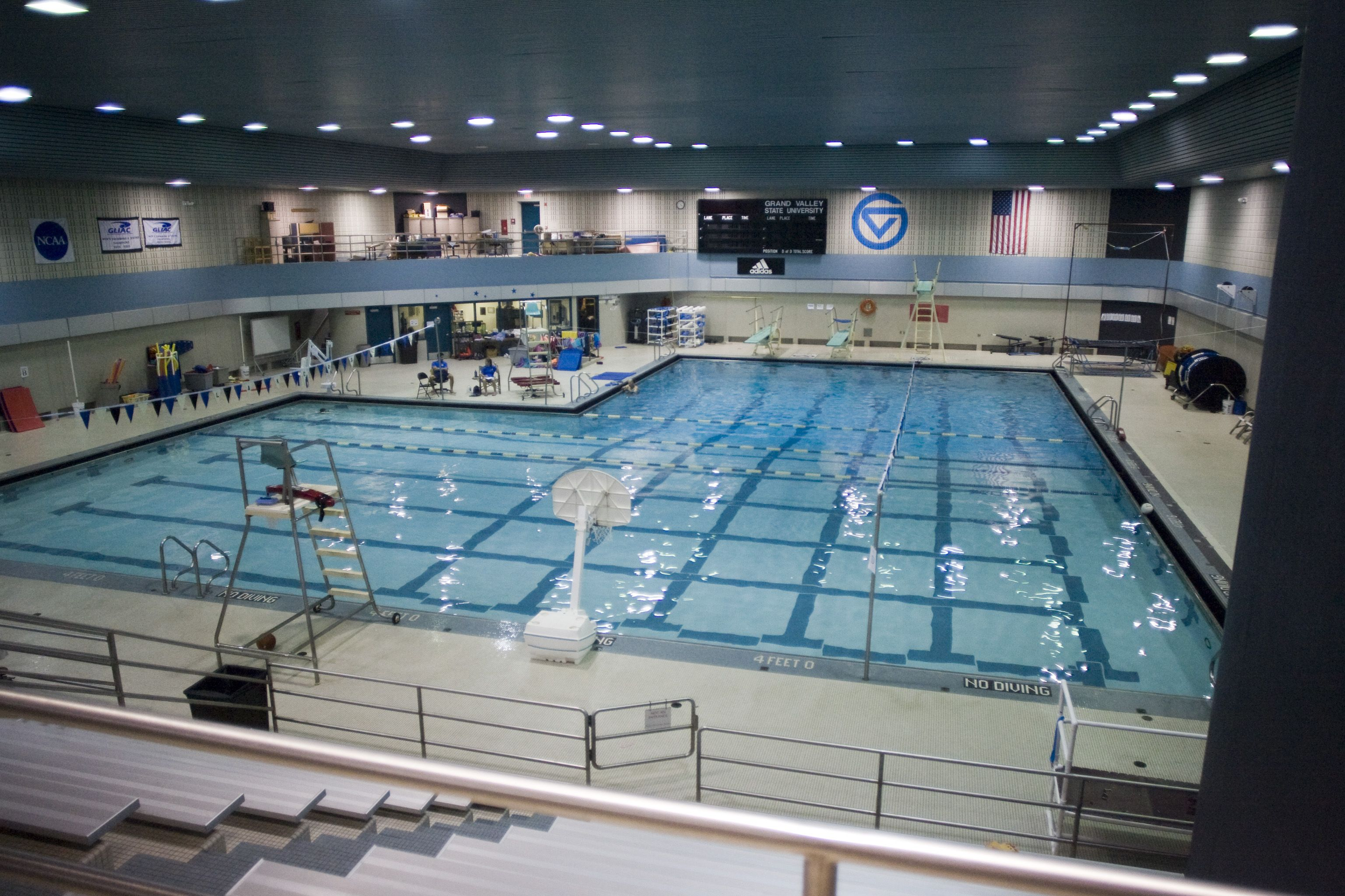 GVSU Pool Swimming & Diving Grand valley state, Grand