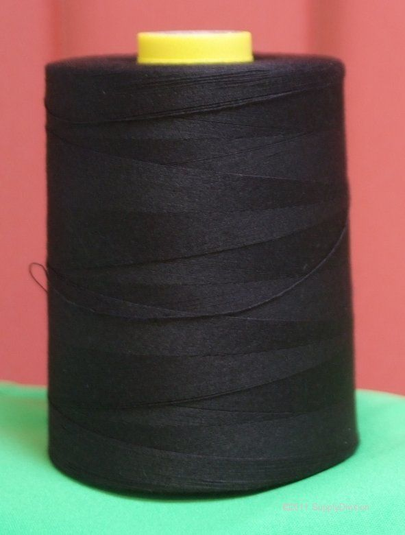 Budget 5000m of thread on a cone £4.00