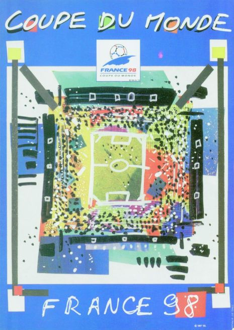 The Beautiful Game World Cup Posters 1930 2014 Fifa World Cup France Fifa World Cup World Cup