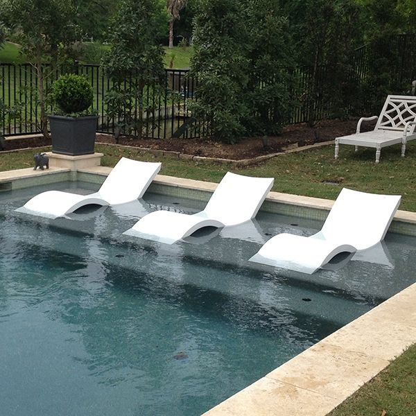 Chaise Lounge Ledge Lounger Outdoor Lounges Pool Patio Pools