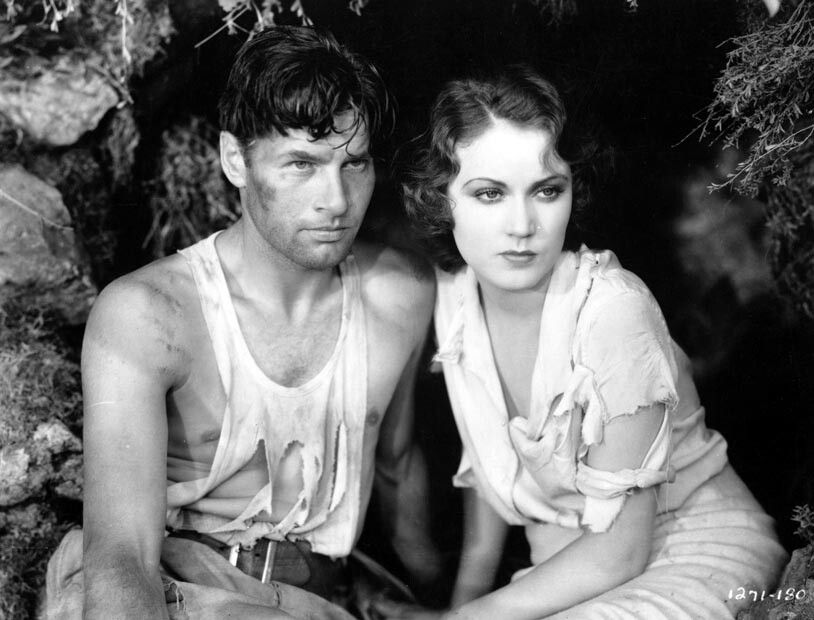 Richard Arlen Fay Wray The Sea God 1930 Fay Wray Richard