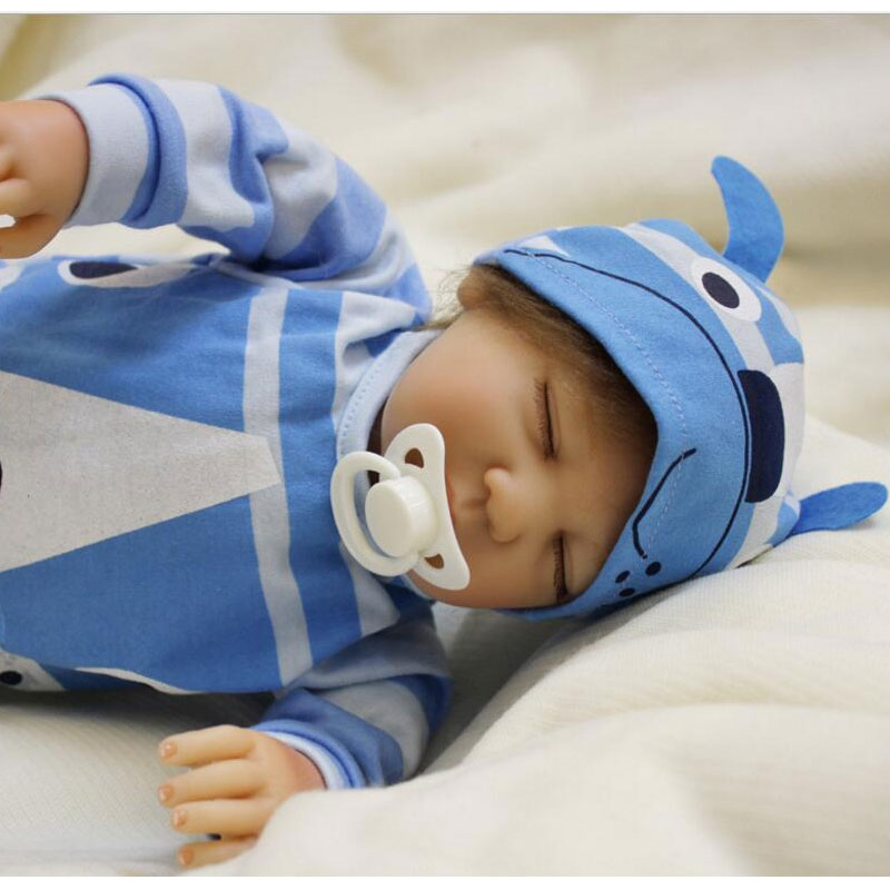 87.40$  Buy now - http://aliaxd.worldwells.pw/go.php?t=32792252008 - NEW Silicone Reborn Baby Doll 50cm Playmate Gift For Kids Alive Birthday Gift Doll Bebe Reborn Juguetes Babies Toy For Bouquets