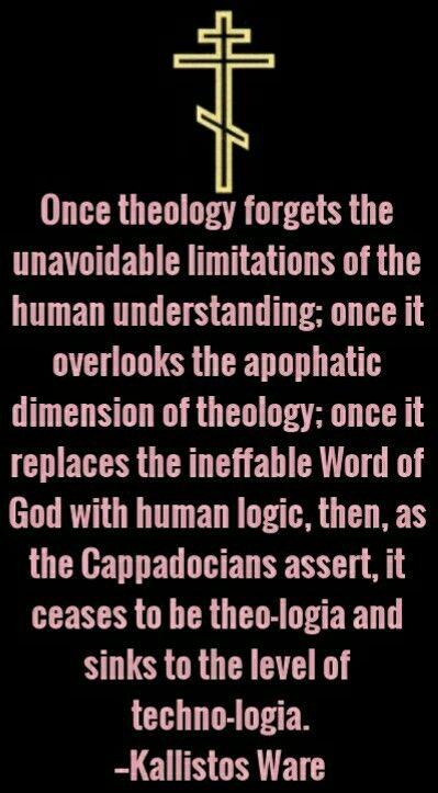 Kallistos Ware Word Of God Theology Words