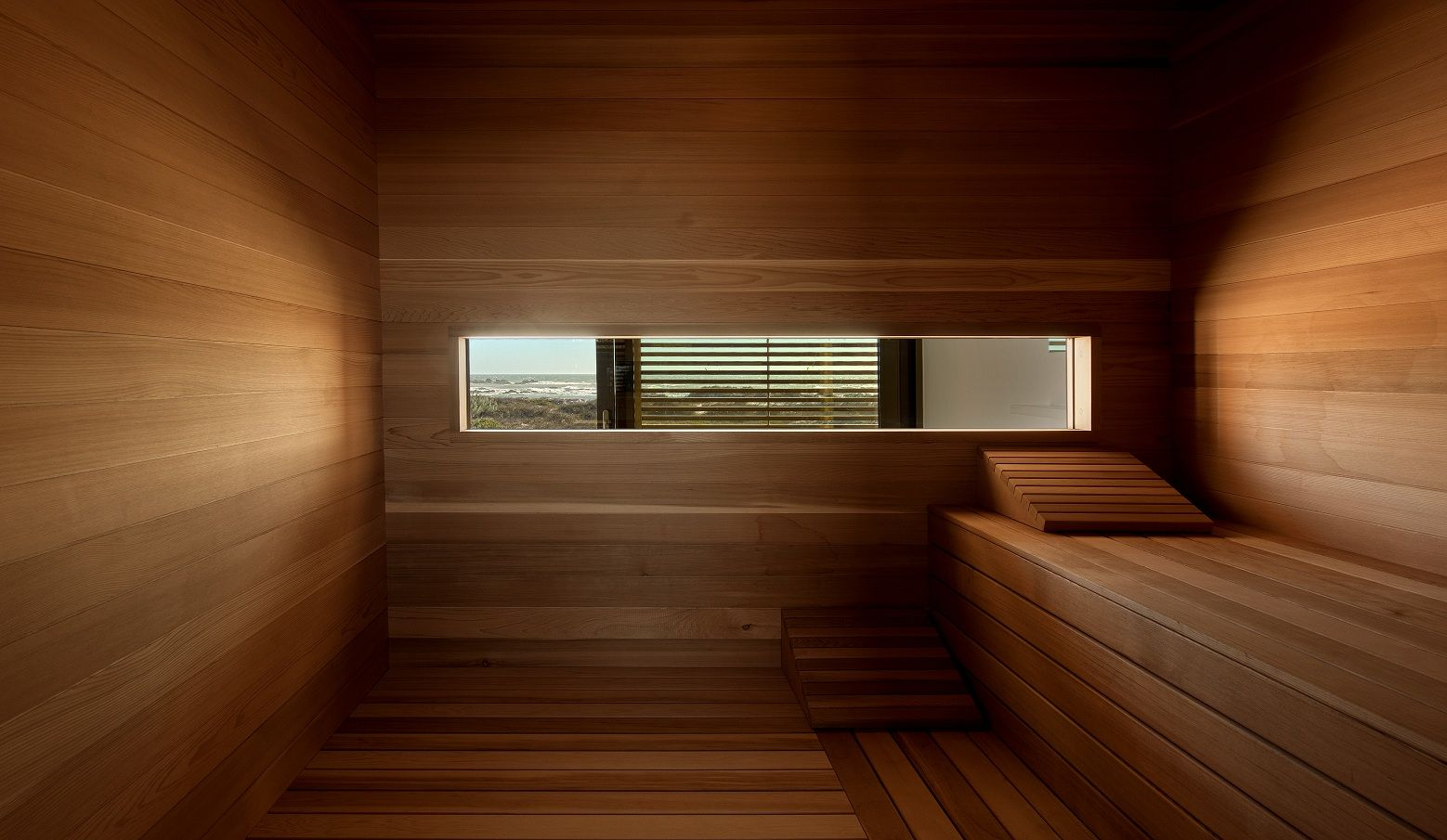 western red cedar sauna big bay cape town cladding. Black Bedroom Furniture Sets. Home Design Ideas
