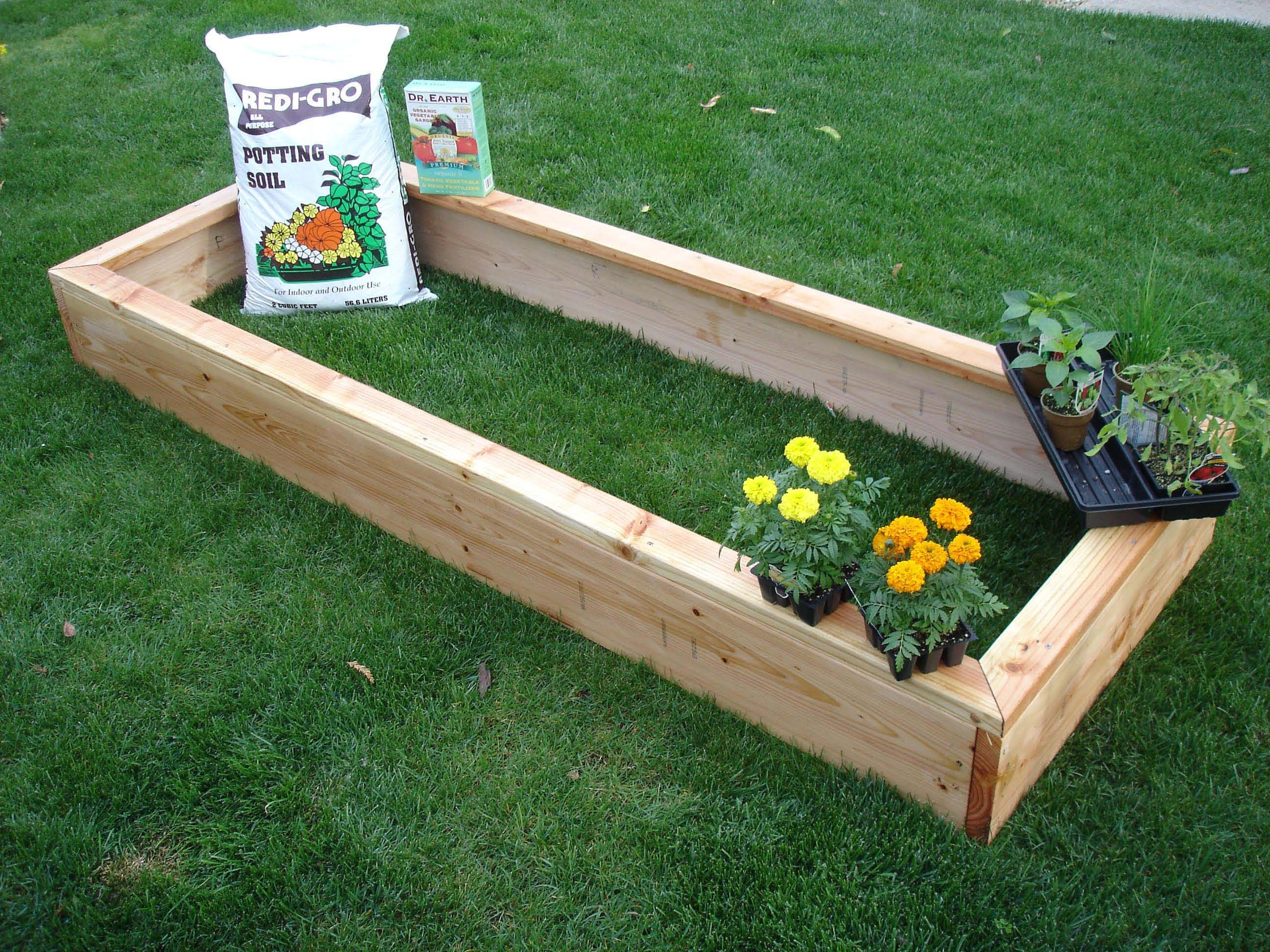 Raised Garden Beds | Organic Gardening Made Simple Do It Yourself Raised  Garden Bed 1