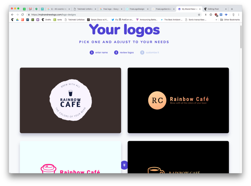 How To Knock Out A Quick Business Logo Business Logo Order Of