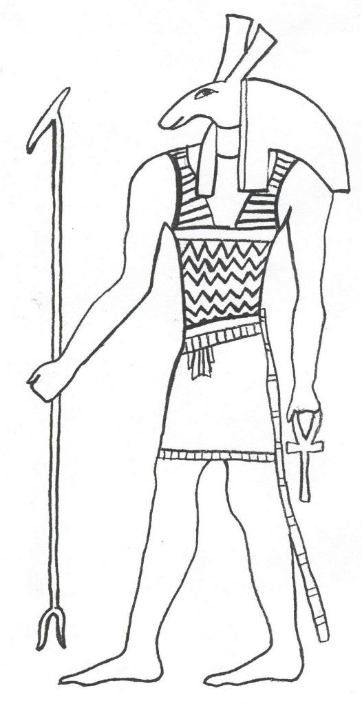Free Printable Ancient Egypt Coloring Pages For Kids | Pinterest ...
