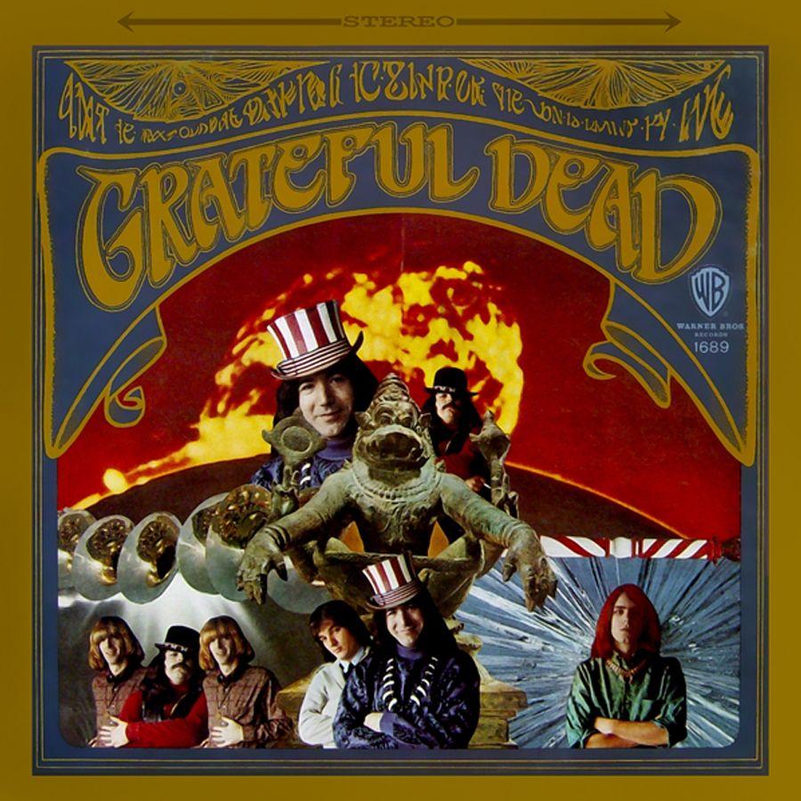 Grateful Dead [1967]. Album Cover Art by Stanley Mouse & Alton Kelley