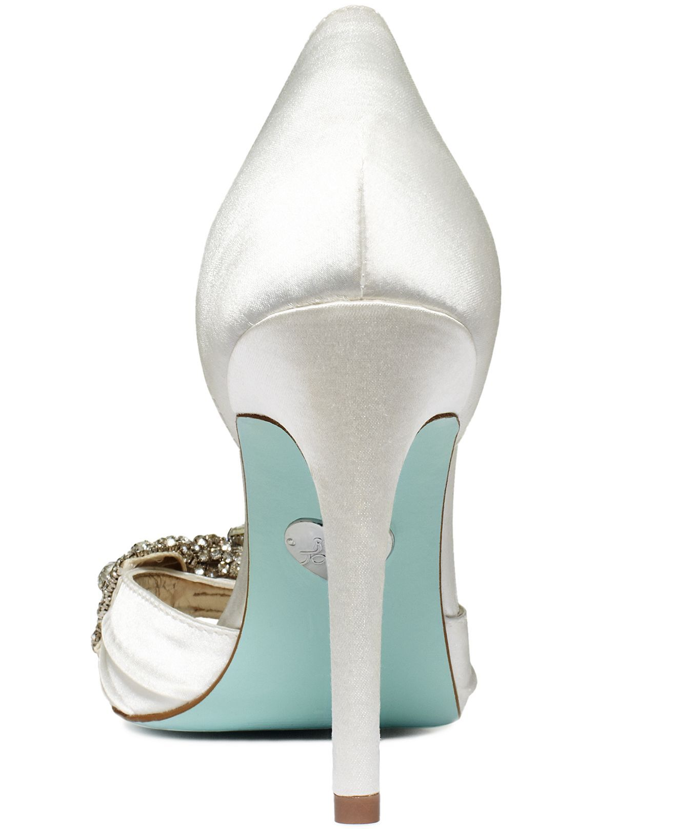 Blue by Betsey Johnson Shoes, Gown Evening Pumps - Shoes - Macy\'s ...