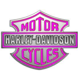 Animated Harley Davidson Screensavers Pink Logo Photo 1 Wallpaper