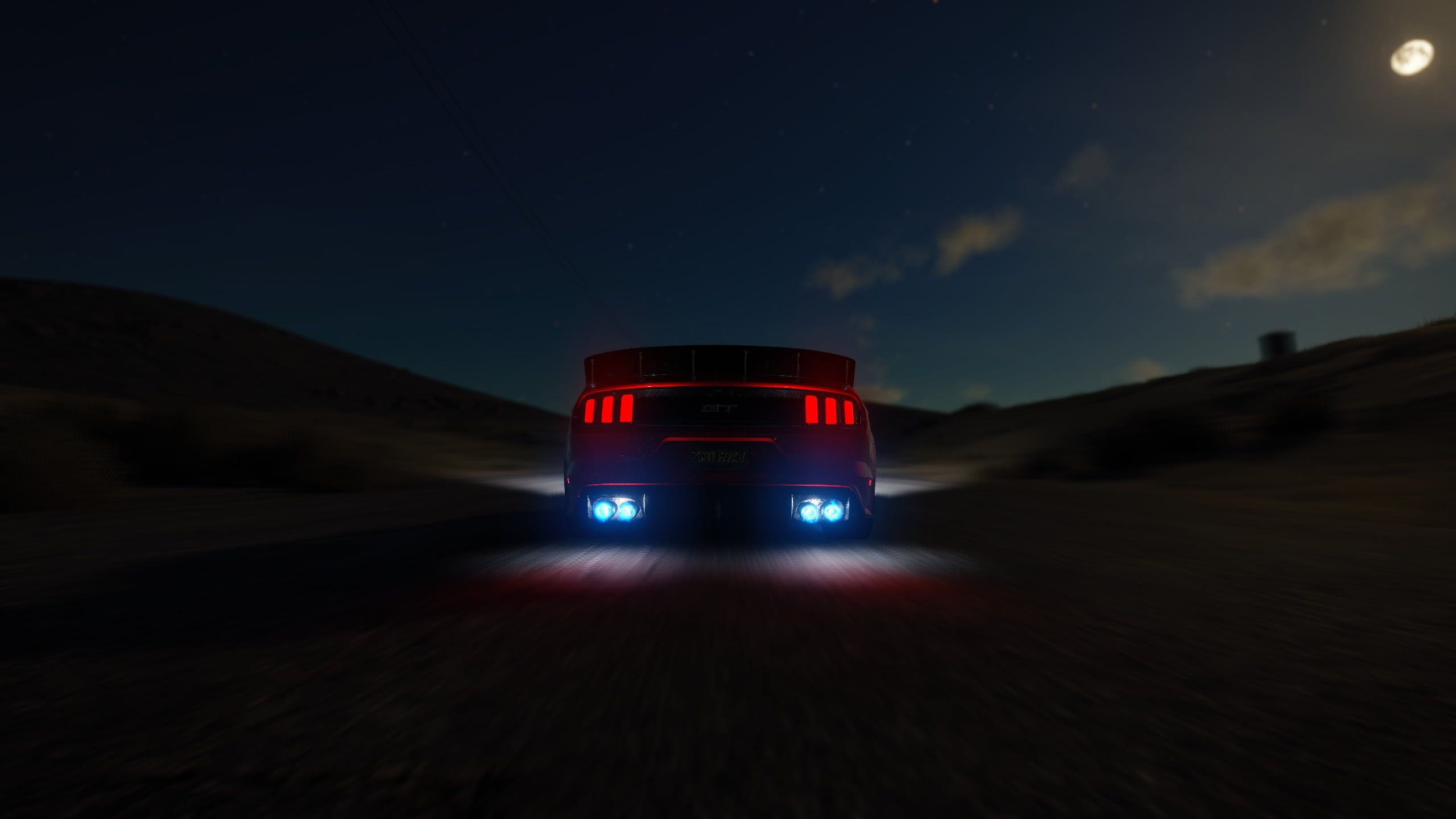 Untitled Ford Mustang Gt The Crew Car Nitro 2k Wallpaper Hdwallpaper Desktop Mustang Gt Ford Mustang Gt Mustang