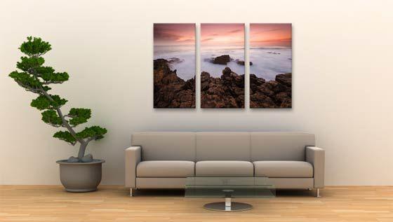 Triptych Canvas Prints Split Multi Panel Wall Art