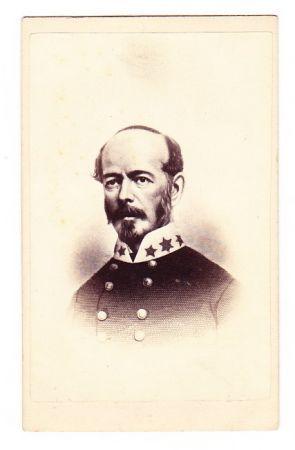 confederate general Joseph Eggleston Johnston CDV photo