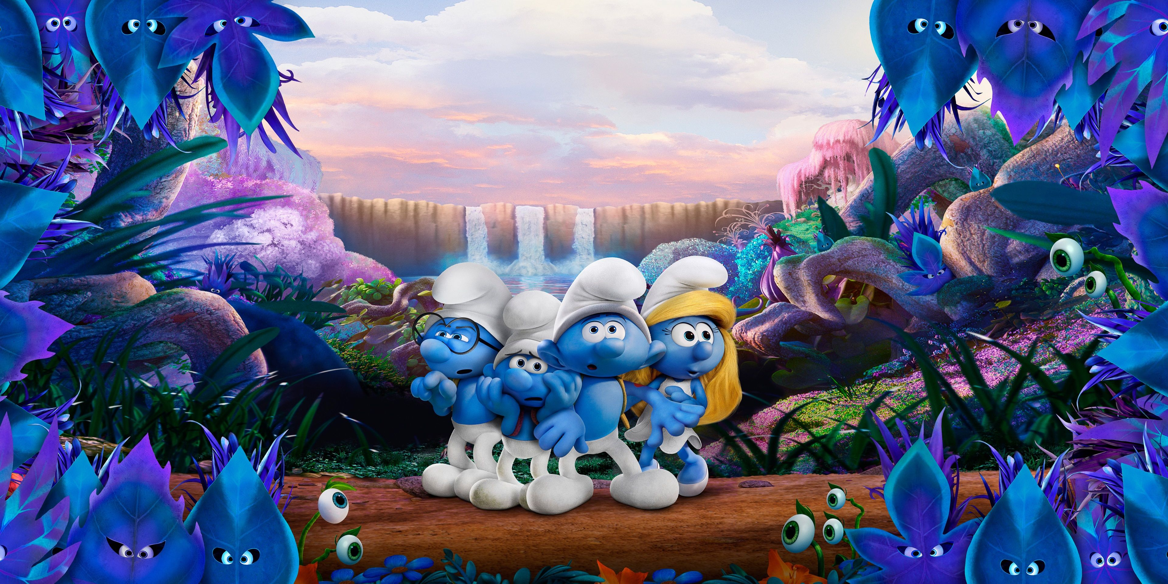 3840x1920 Smurfs The Lost Village 4k Hd High Resolution