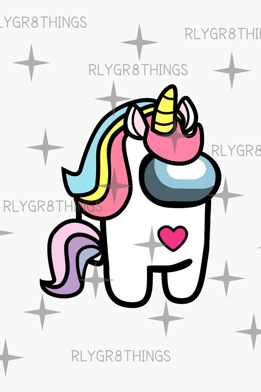 Among Us Unicorn Png Among Us Character Png Unicorn Shirt Etsy In 2021 Unicorn Shirt Diy Unicorn Shirt Unicorns Png