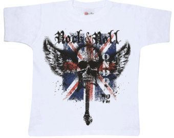Rock N Roll London Kids T- Shirt