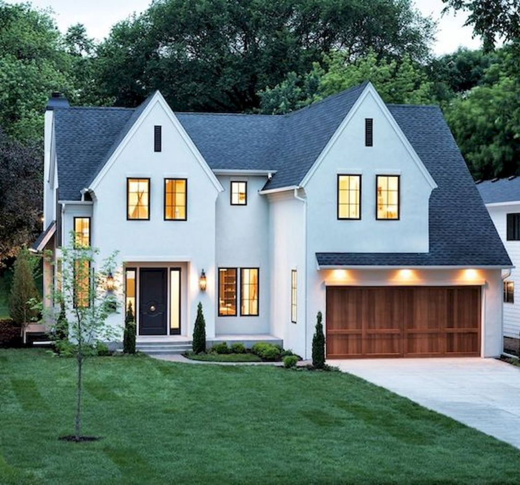 33 Beautiful Modern Farmhouse Exterior Design Ideas (1 images