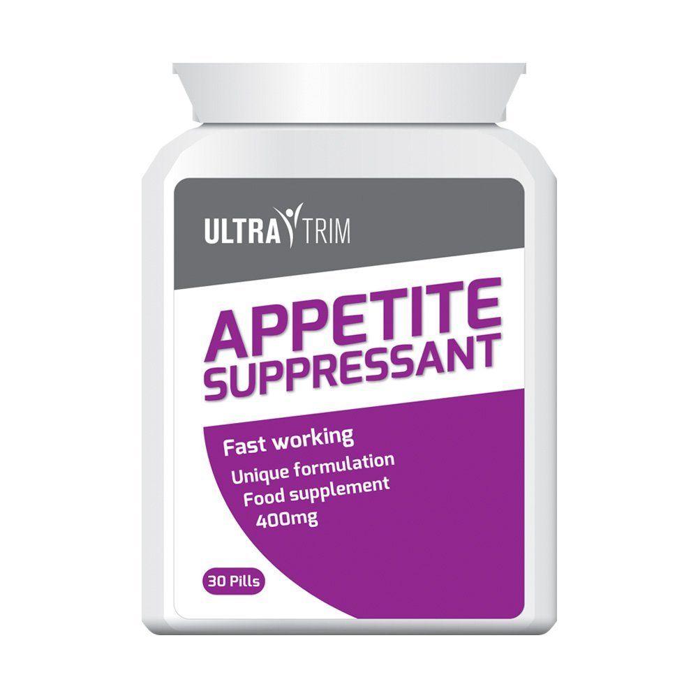 Ultra Trim Appetite Suppressant Pills Feel Fuller Longer Tablets