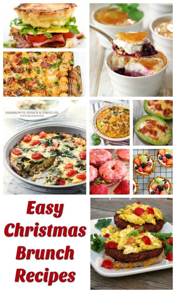 easy christmas brunch recipes dilight