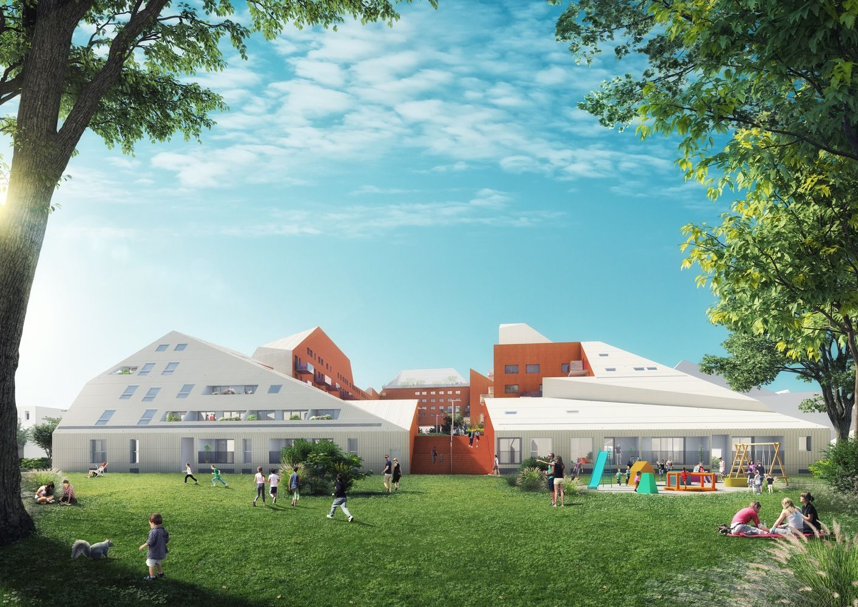 Gallery of MVRDV Breaks Ground on Riverfront Housing Complex in Bordeaux - 1