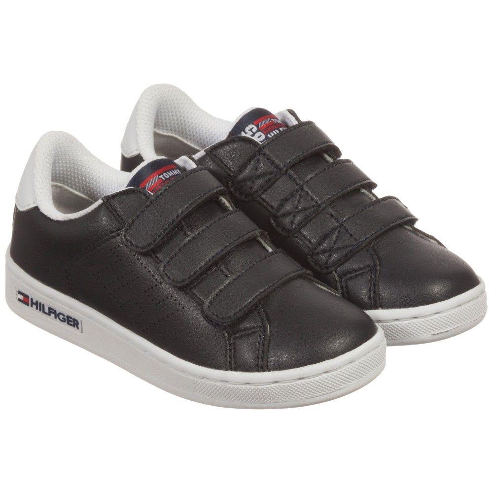 a32410551e01 Boys Dark Navy Blue   White Velcro Trainers. Dark Navy BlueDesigner ShoesTommy  HilfigerKids OnlineBoysTrainersPolyvoreBaby BoysTennis Sneakers